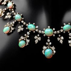 Marie Poutine's Jewels & Royals: Some Opal Necklaces