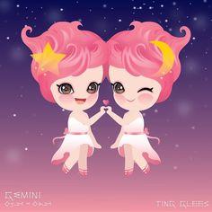 #팅글리 #별자리 #봄 을 상징하는 #츄 가 #쌍둥이자리 로 환생 👭⭐️🌙 5월 21일~6월 21일, 쌍둥이자리이신 분은 누구?!💫 . #TingGlees #constellation 🌟 #Chu is symbol of #Spring of #4season. Put your hand up if you are in #Gemini 🌙⭐️👯