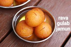 suji gulab jamun, suji ka gulab jamun, rava gulab jamun with step by step photo/video. unique way of preparing traditional jamun dessert with fine semolina Veg Recipes, Spicy Recipes, Sweets Recipes, Vegetarian Recipes, Cooking Recipes, Easy Recipes, Chicken Recipes, Pakora Recipes, Dinner Recipes
