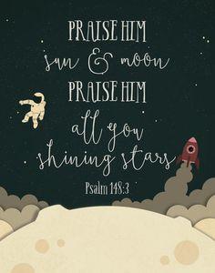 · Psalms 148:3 ·