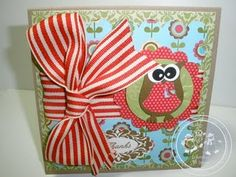 Cards, Stampin' Up, My Owl Card