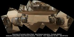 Mars Rover Curiosity is sending us HD photos - but will we one day be able to receive HD video from the Red Planet? Nasa Rover, Mars Science Laboratory, Mars Surface, Mars Planet, Wheels On The Bus, Deep Space, All The Way Down, White Image