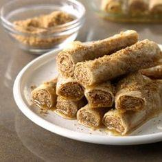 Honey Cinnamon Rollups