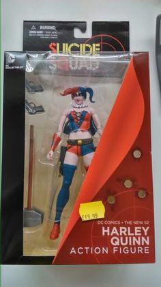 Harley Quinn action figure, based on her appearance in the suicide squad