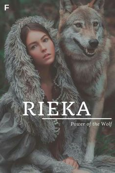 Rieka meaning Power of the Wolf German names R baby girl names R baby names female names whimsical baby names baby girl names traditional names names that start with R strong baby names unique baby names feminine names nature names Strong Baby Names, Unique Baby Names, Names Baby, Unique Female Names, R Girl Names, Nature Girl Names, Kid Names, Pretty Names, Cool Names