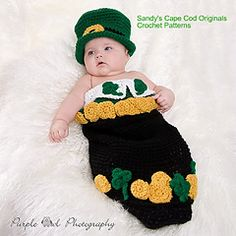 St Patricks Day Cocoon (crochet)