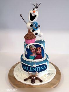 Your Cake. Tarta Olaf