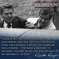 Ronald Reagan's words on his commitment to the Lord. Ronald Reagan Quotes, President Ronald Reagan, 40th President, Quotable Quotes, Wisdom Quotes, Life Quotes, Great Quotes, Inspirational Quotes, Encouragement