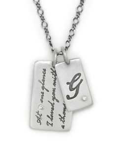 Really stunning new selection of custom silver charms for a keepsake mom necklace | Heart and Stone (and 15% off today only!)