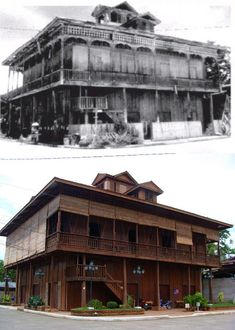 Filipino House, Filipino Architecture, Philippine Houses, Then And Now Photos, Filipino Culture, Filipiniana, Mindanao, Manila Philippines, House Restaurant