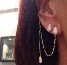 Djula Jewelry earrings Cute Jewelry, Jewelry Box, Jewellery, Stone Jewelry, Crystal Jewelry, Djula Jewelry, Ethnic Jewelry, Piercings, Jewelry Accessories