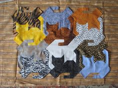 tessellating cats tutorial - no tutorial found, but maybe enlarging the pic to try for a pattern?