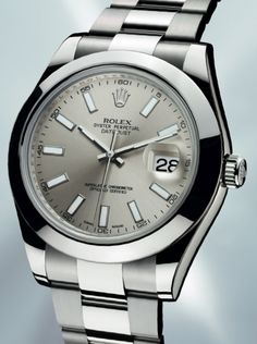 Rolex...pretty sure I would never take this one off!