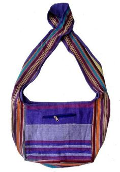 Cotton Canvas Handcrafted Hippie Indian Yoga Sling Cross Body Bag by Krishna Mart India, http://www.amazon.com/dp/B007LIISYY/ref=cm_sw_r_pi_dp_lyMiqb04AH4F3