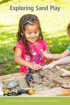 Sand and water hold a tremendous attraction for young children, but as time for play is increasingly threatened by standards and curriculum driven activities, how can teachers validate the educational value and necessity of sand play in the classroom? Read more...