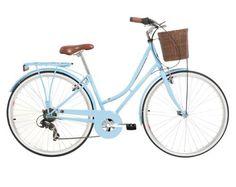 Kingston Women's Hampton Classic Traditional Bike - Baby Blue, 16 Inch - TOO BIG