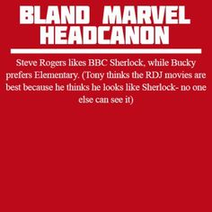 This could probably happen, although I think both Tony and Steve would prefer the RDJ Sherlock Holmes movies.