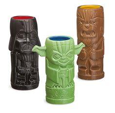 Star Wars Geeki Tiki Mugs For The Ultimate Battle of Endor Luau -  #luau #party #starwars