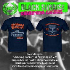 BlackSunriseExxxtremeClothing: Achtung Panzer & Ekranoplan v2 disponibili nello s...