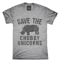 Save The Chubby Unicorns Rhino T-Shirt, Hoodie, Tank Top