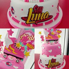 Torta soy luna cake by giovanna carrillo g teau soy luna - Carrillo decoracion ...