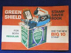 Green shield stamps.I can still taste them. A full book for an egg cup. thanks Mum.