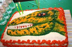 Dinosaurs Birthday Party Ideas | Photo 3 of 26 | Catch My Party