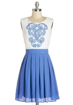 Network of Art Dress, #ModCloth