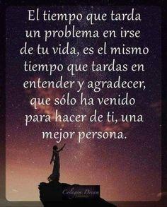 Spanish Inspirational Quotes, Spanish Quotes, Spanish Humor, Gods Love Quotes, True Quotes, Yoga Mantras, Don Juan, Motivational Phrases, Les Sentiments