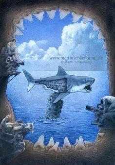 Inside Jaws by MartinSchlierkamp