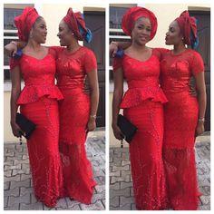 Alluring Aso-Ebi Styles ~Latest African fashion, Ankara, kitenge, African women dresses, African prints, African men's fashion, Nigerian style, Ghanaian fashion ~DKK