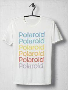 ALTRU Polaroid Logo Repeat Tee Shirt | Piperlime