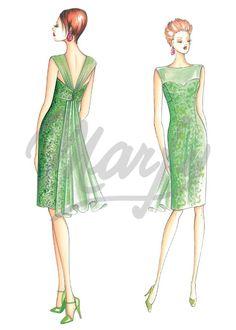 Patron de couture Robes 3452