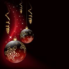 Red style Christmas background art vector 02