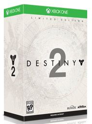 Get an incredible array of physical and digital items with Destiny 2  -  Limited Edition. Includes Destiny 2 base game, Expansion Pass, premium digital content, and a Cabal-themed Collector's Box to take your Destiny 2 experience to the next level.