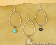 ER205 #juliodesigns #handmadejewelry #vintage
