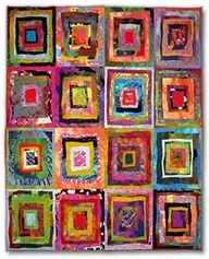 Fabric art by Sue Benner