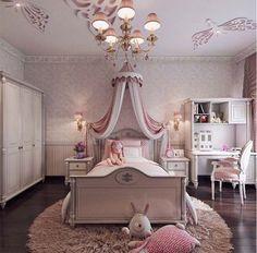 Girls room via instagram @homeadore