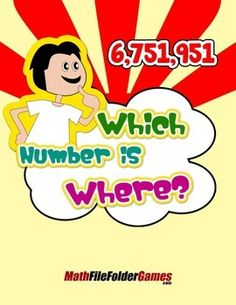 Which Number is Where? {Place Value Game} https://www.teacherspayteachers.com/Product/Which-Number-is-Where-Place-Value-Game-1465389