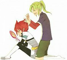 Litle Boy, Inazuma Eleven Go, Manga, The Fosters, Chibi, Fan Art, Cartoon, Couples, Sleeve