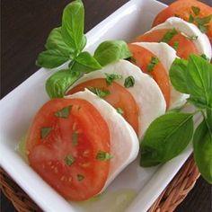 Tomato Mozzarella Salad Allrecipes.com