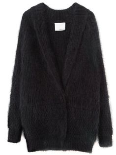 23aa5d64c95ff7 Fall's Best Cozy Sweaters: 3.1 Phillip Lim Fuzzy Angora Cardigan Thick  Sweaters, Fall Sweaters