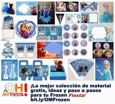 Frozen Fever: Etiquetas para Candy Bar para Imprimir Gratis.   Ideas y material gratis para fiestas y celebraciones Oh My Fiesta!