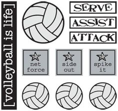 (diva)logues: Volleyball is life. or at least it was anyway. Volleyball Locker Signs, Volleyball Senior Gifts, Volleyball Locker Decorations, Volleyball Cakes, Volleyball Room, Volleyball Party, Volleyball Posters, Volleyball Training, Volleyball Workouts