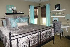 master bedroom redo  (bedding, not as shiny as this pic looks)