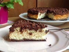 "Estonský koláč ""Turbakook"" / Estonian peat cake from cottage cheese Cottage Cheese, Tiramisu, Cheesecake, Yummy Food, Sweets, Baking, Ethnic Recipes, Cupcakes, Blog"