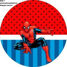 Montando minha festa: kit grátis para imprimir homem aranha