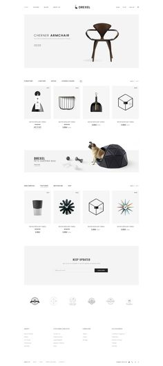 Buy Drexel - PSD Ecommerce Templates by Pixel-Creative on ThemeForest. Description Drexel – Ecommerce PSD Template is a uniquely ecommerce website template designed in Photoshop with a mod. Design Web, Web Design Tutorials, Design Trends, Ecommerce Webdesign, Ecommerce Template, Ecommerce Websites, Top Websites, Online Shopping Websites, Shopping Tips