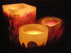 Aprenda a fazer velas decorativas e dê um toque de romantismo à casa (Foto: Mais Você / TV Globo)