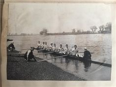 Rare Rowing Diary 1901-1902 Henley Regatta listed on eBay with luvjoystimber Rowing, Antiques, Painting, Ebay, Things To Sell, Art, Antiquities, Art Background, Antique